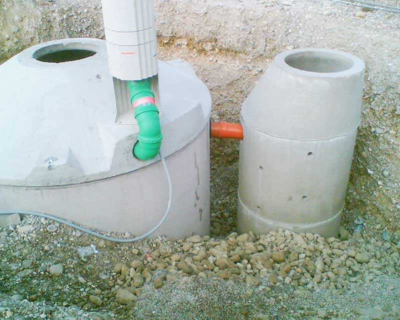 SBR-Anlage für 12 EW, Reinigungsklasse N