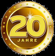 20 Jahre Emblem